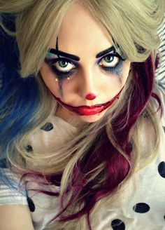 clown make up by kikimj & Pin by Michele M. on H@lloween [F@ce] | Pinterest