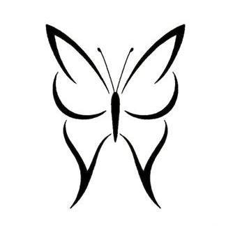 Tiny Tattoo Idea Butterfly Tattoo Designs Butterfly Tattoo Tribal Butterfly Tattoo
