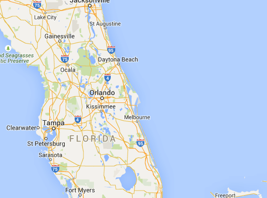 Driving Directions & Maps | Kennedy Space Center | Places we have