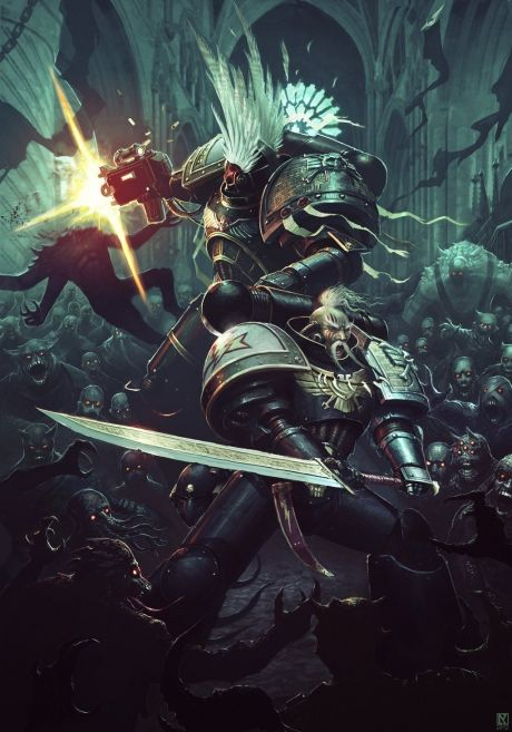 Inspiration Digital Fantasy Art With Metal Samurai Themes