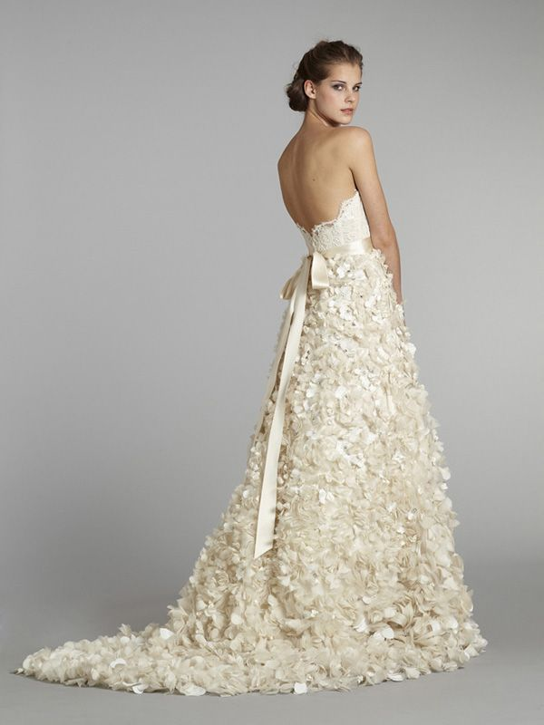 Lazaro Brautkleid back 2013 Kollektion | Wedding Dresses ...