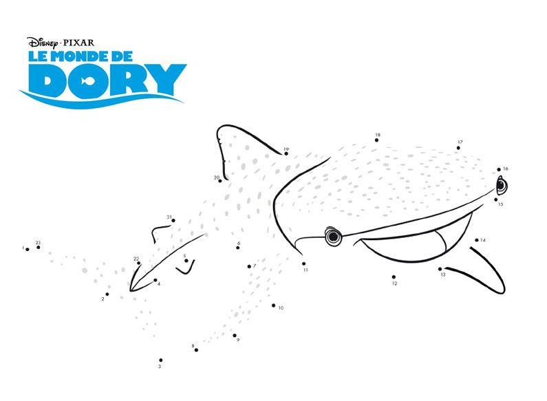 A lu0027occasion de la sortie du film « Le monde de Dory (Finding Dory - new pixar coloring pages finding nemo