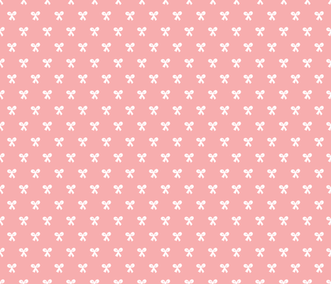 Sweet Vintage Baby Girl Bow Fabric By Littlesmilemakers On Spoonflower