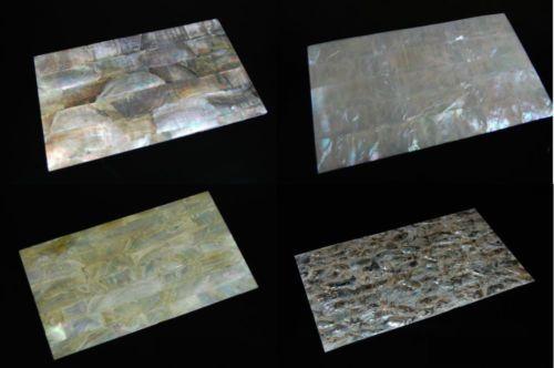Mother Of Pearl Mop Abalone Veneer Sheets Shell Overlay Inlay Nacre Paua Inlay Veneers Overlays