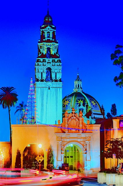 balboa park san diego california flickr photo sharing - Balboa Park Christmas Lights