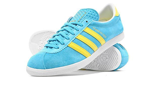 Adidas Originals London Trainers Blue