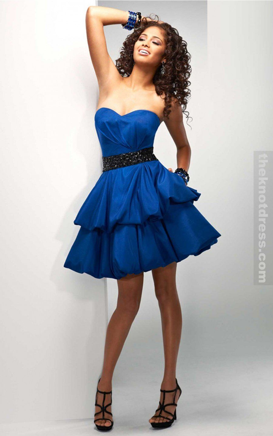 10 Best images about Blue Dresses on Pinterest - Blue ball gowns ...