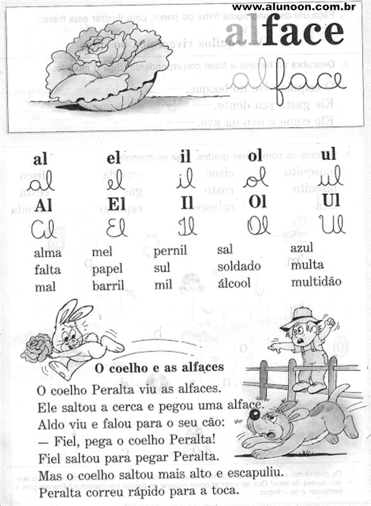 Imagem Educacao Infantil Aluno On Atividades Alfabetizacao