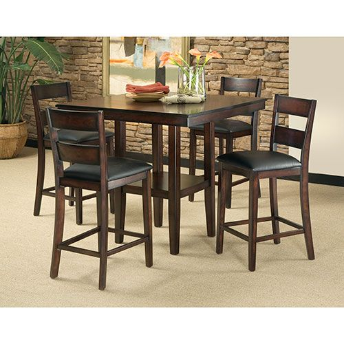 Pendelton 5 Piece Counter Height Dining Set Counter Height