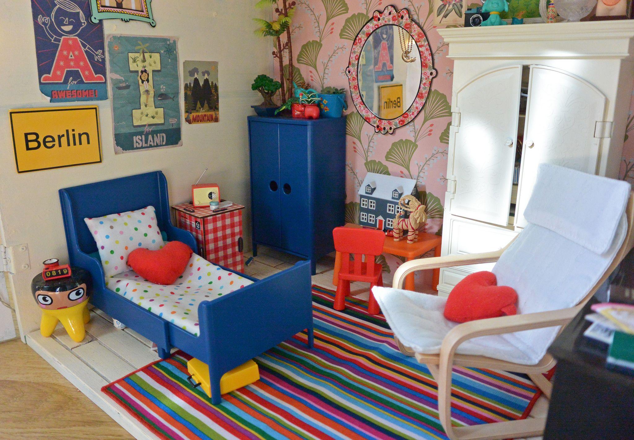 ikea lillabo dollshouse blythe. Ikea Lillabo Dollshouse Blythe. A Forever Ongoing Project - Big Doll Room In Small Dollhouse Blythe I
