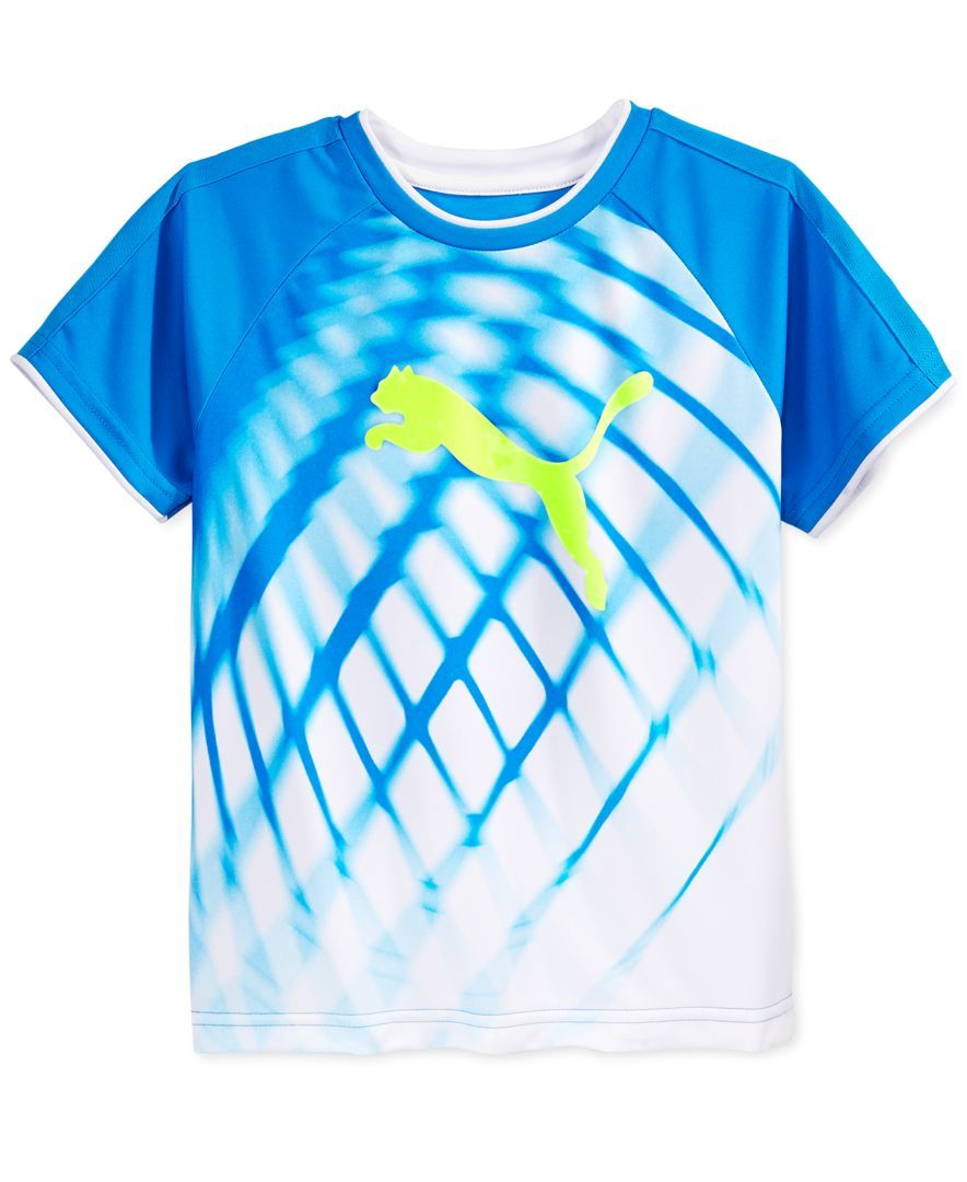 09321a459 Puma Boys' Sublimation Print T-Shirt | Jonah | Printed tees, T shirt ...