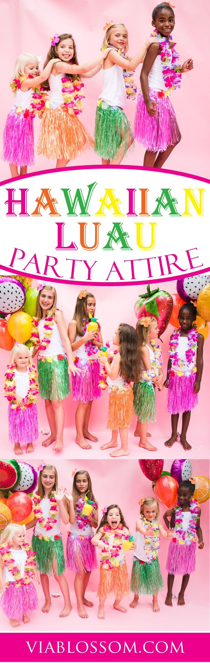 A Luau Party is not complete without the right attire!! If you\'re ...