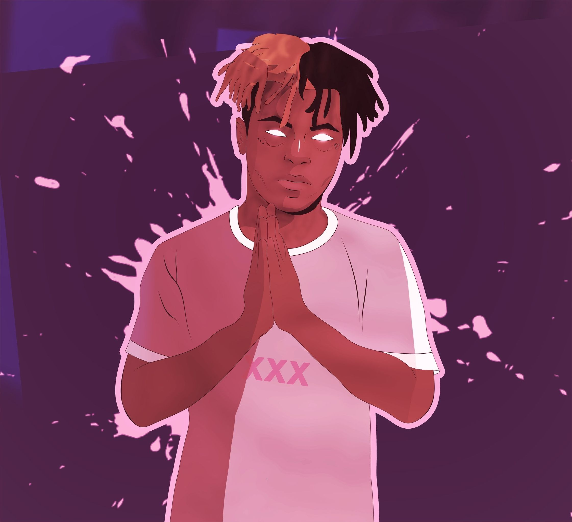 XXXTENTACION Arts this have own style, sharp but cool