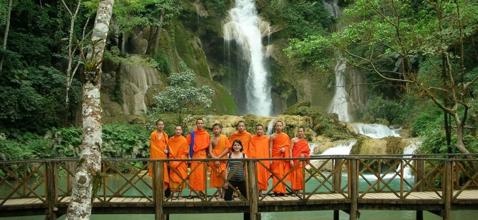 Volunteer with Buddhist Novice Monks in Laos Canada