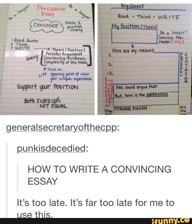 Essay help info