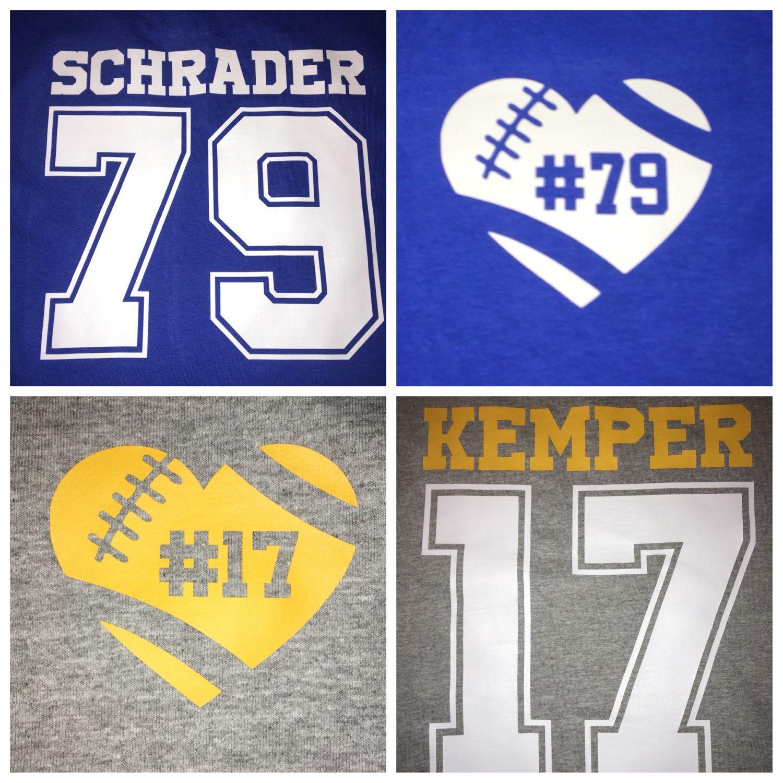 custom parent football jerseys