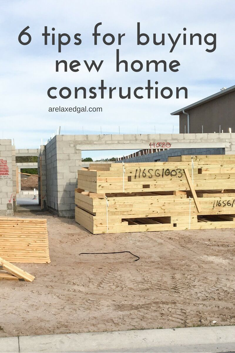 7 Tips For Building A New House New Home Construction Home Building Tips Home Construction