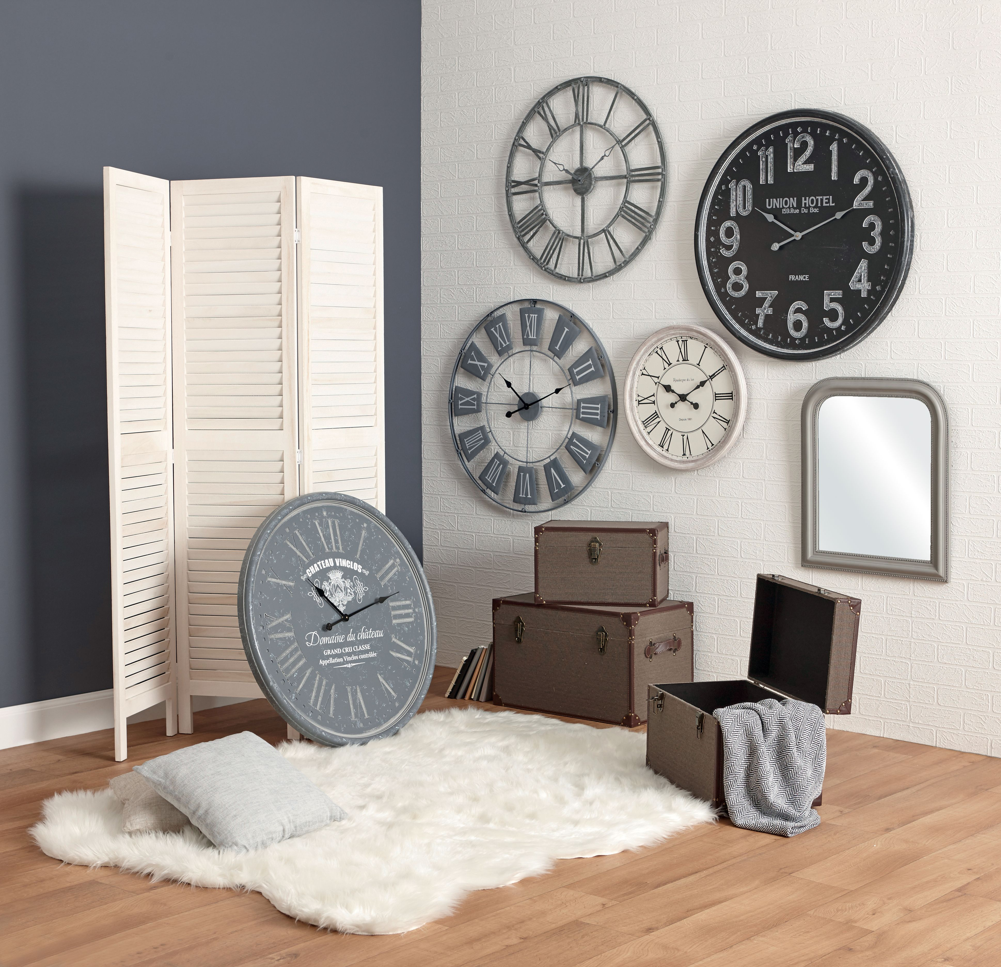 salon avec tapis et horloges centrakor mes meubles et ma d co pinterest horloge tapis et. Black Bedroom Furniture Sets. Home Design Ideas