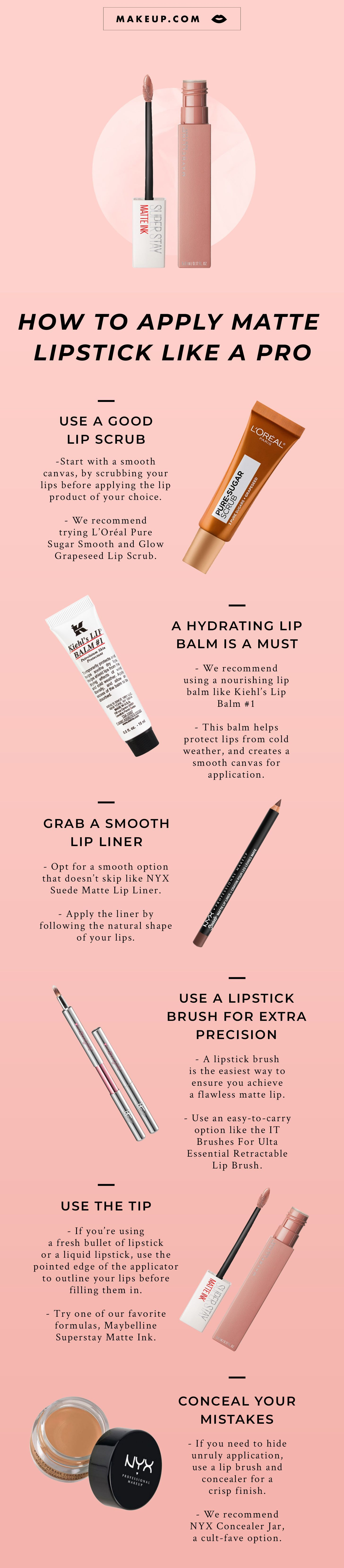 How to Apply Matte Liquid Lipstick Lipstick, Makeup