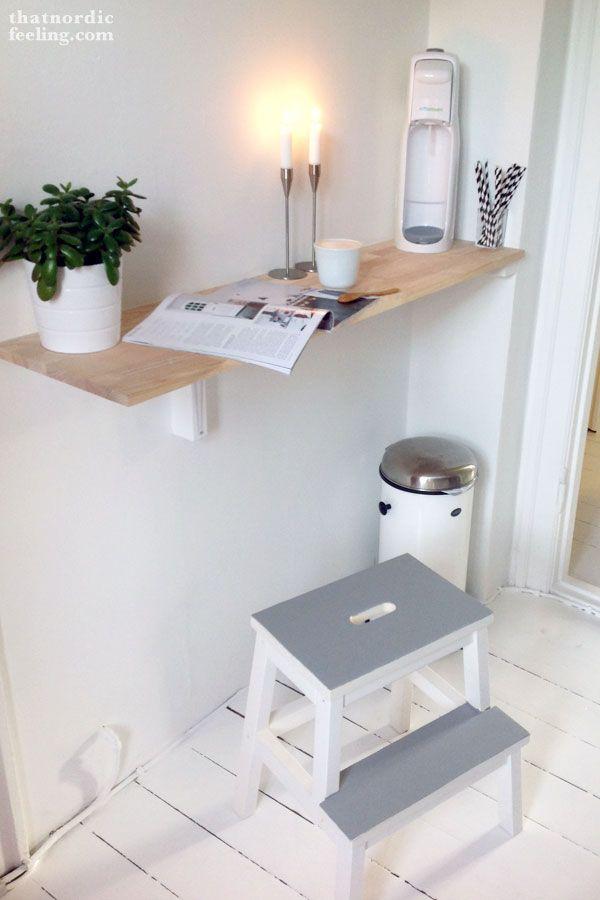 DIY IKEA stool makeover via thatnordicfeeling blog | Home ...