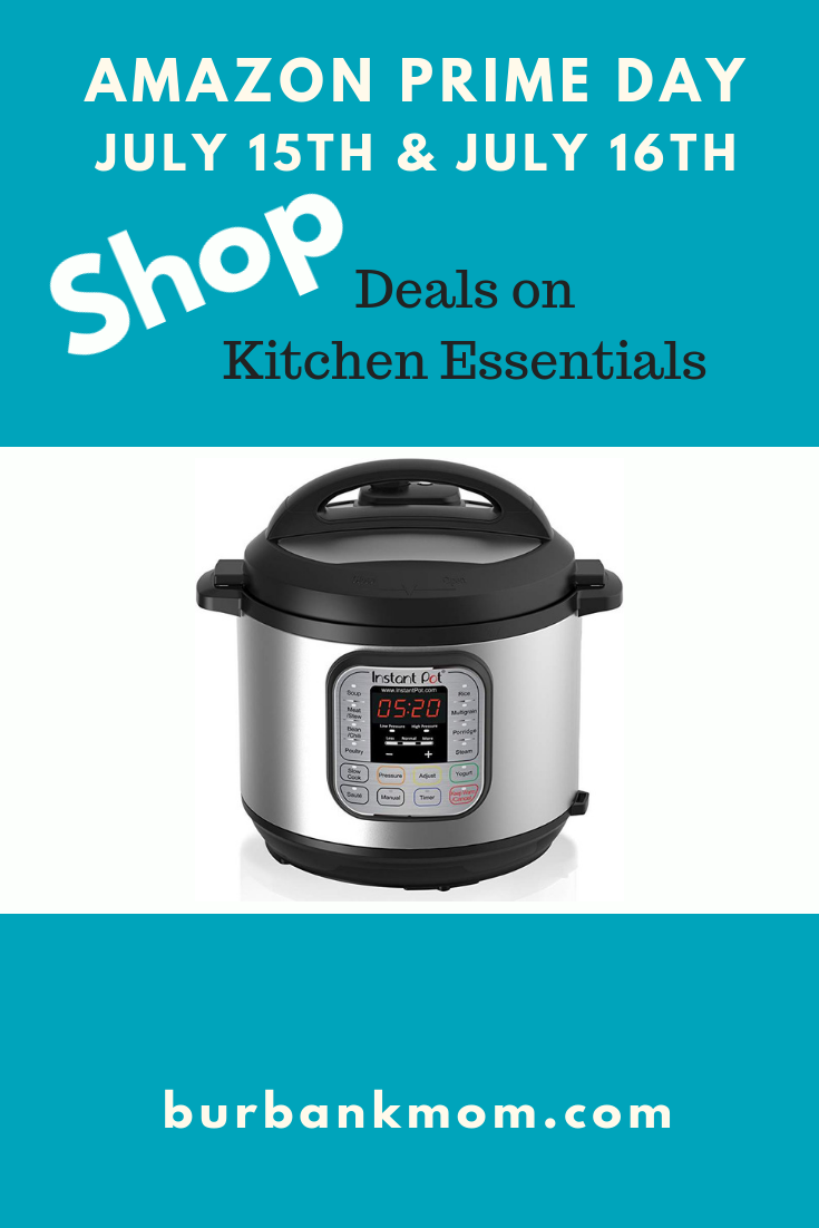 Amazon Kitchen Essentials: Amazon Prime Day Is July 15th And 16th. Score Deals On