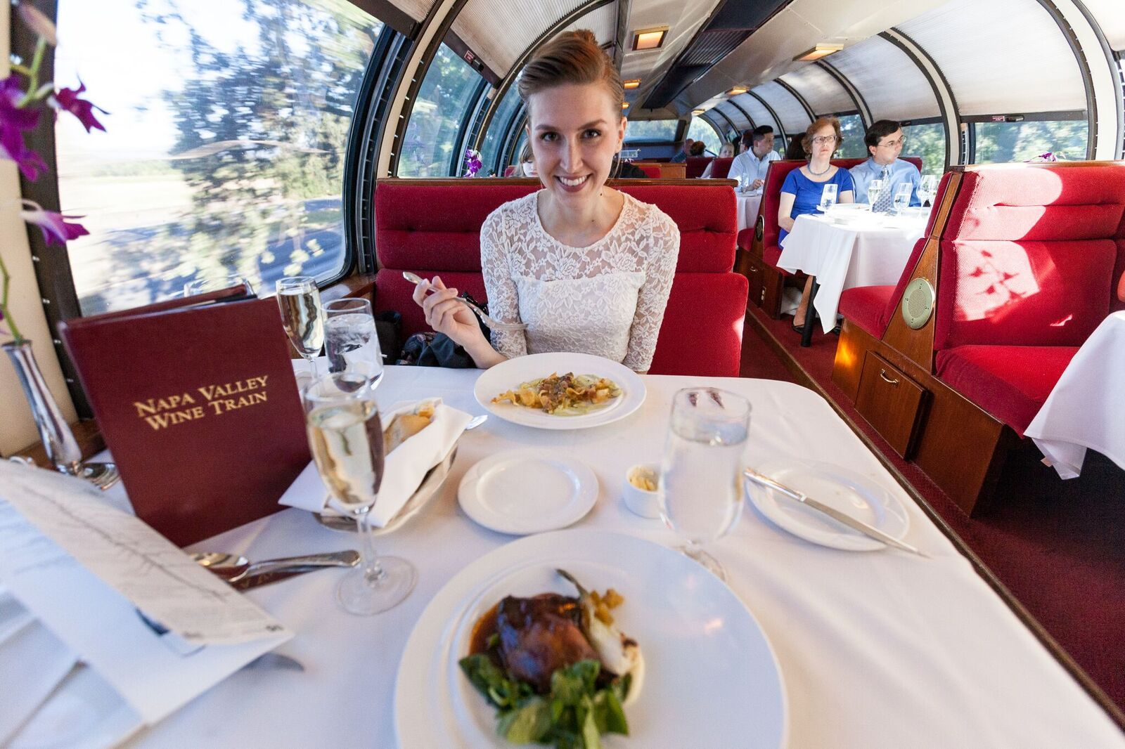 Romantic Dinner Napa Romance Package Napa Napa Valley Wine Train Wine Train Napa Valley Wine Train Napa Valley Wine