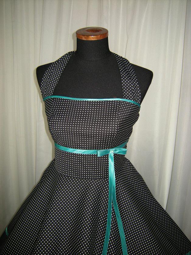 Petticoatkleider - 50er Jahre Kleid Klara - ein Designerstück von Schneiderei-Heike-Borchers bei DaWanda