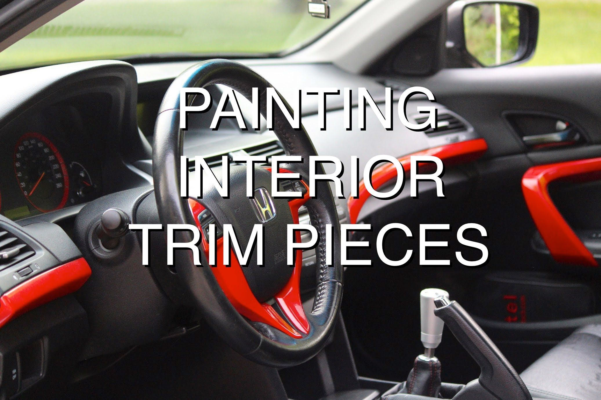 How To Paint Interior Trim Pieces Car Interior Diy Car Interior Paint Diy Car