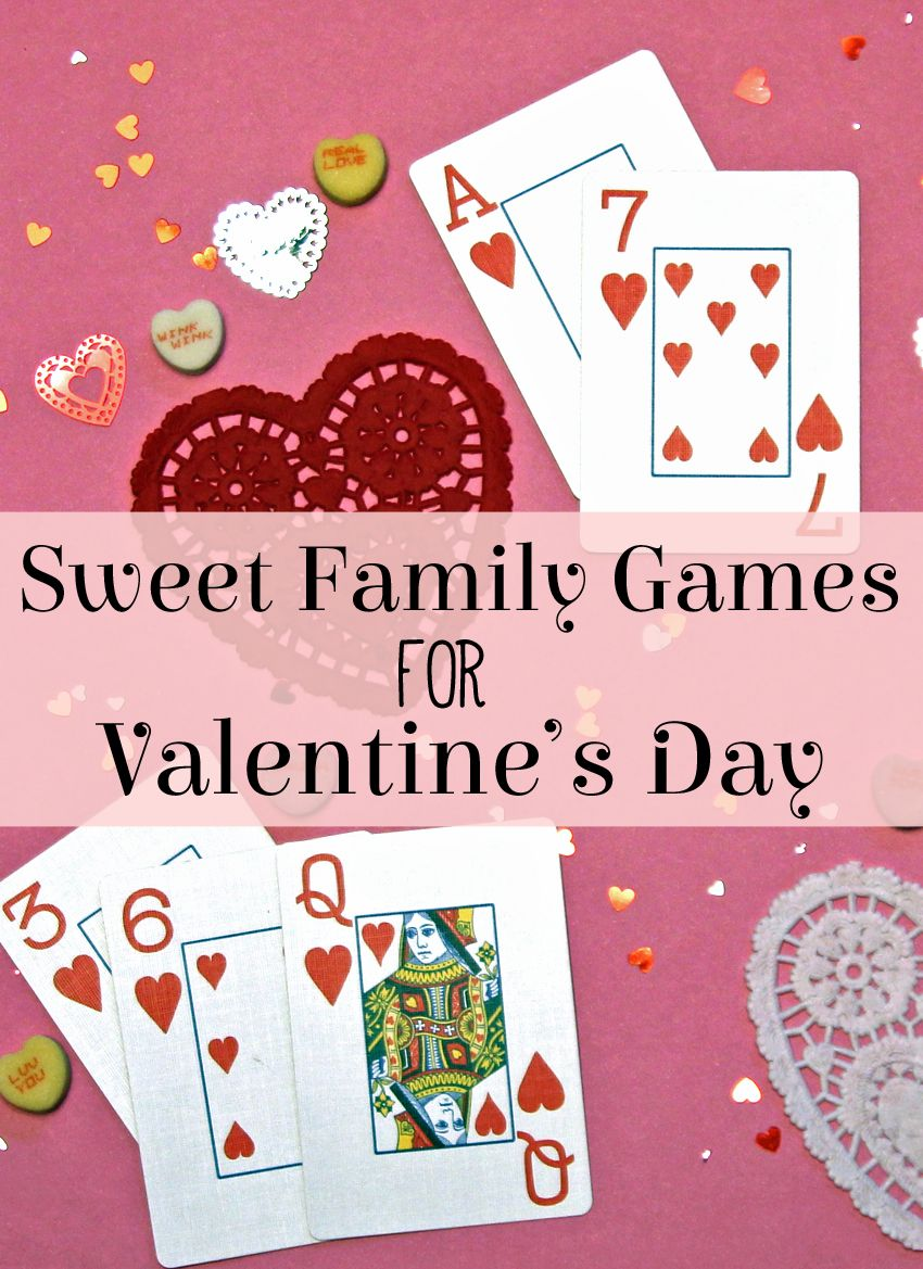 5 Sweet Family Games for Valentine's Day | Make and Takes | Valentine party  game, Valentines games, Valentine's day games
