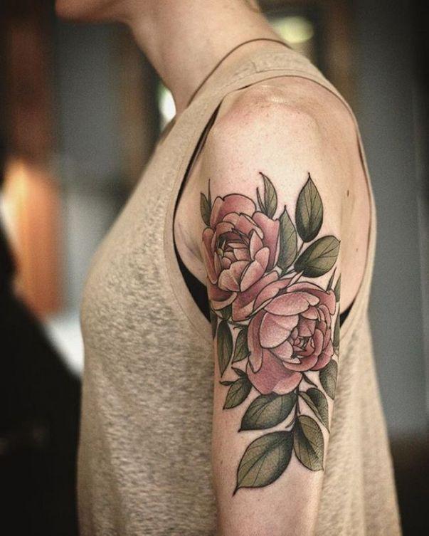 Alice in wonderland flowers tattoo ideas 76 - Creative Maxx Ideas