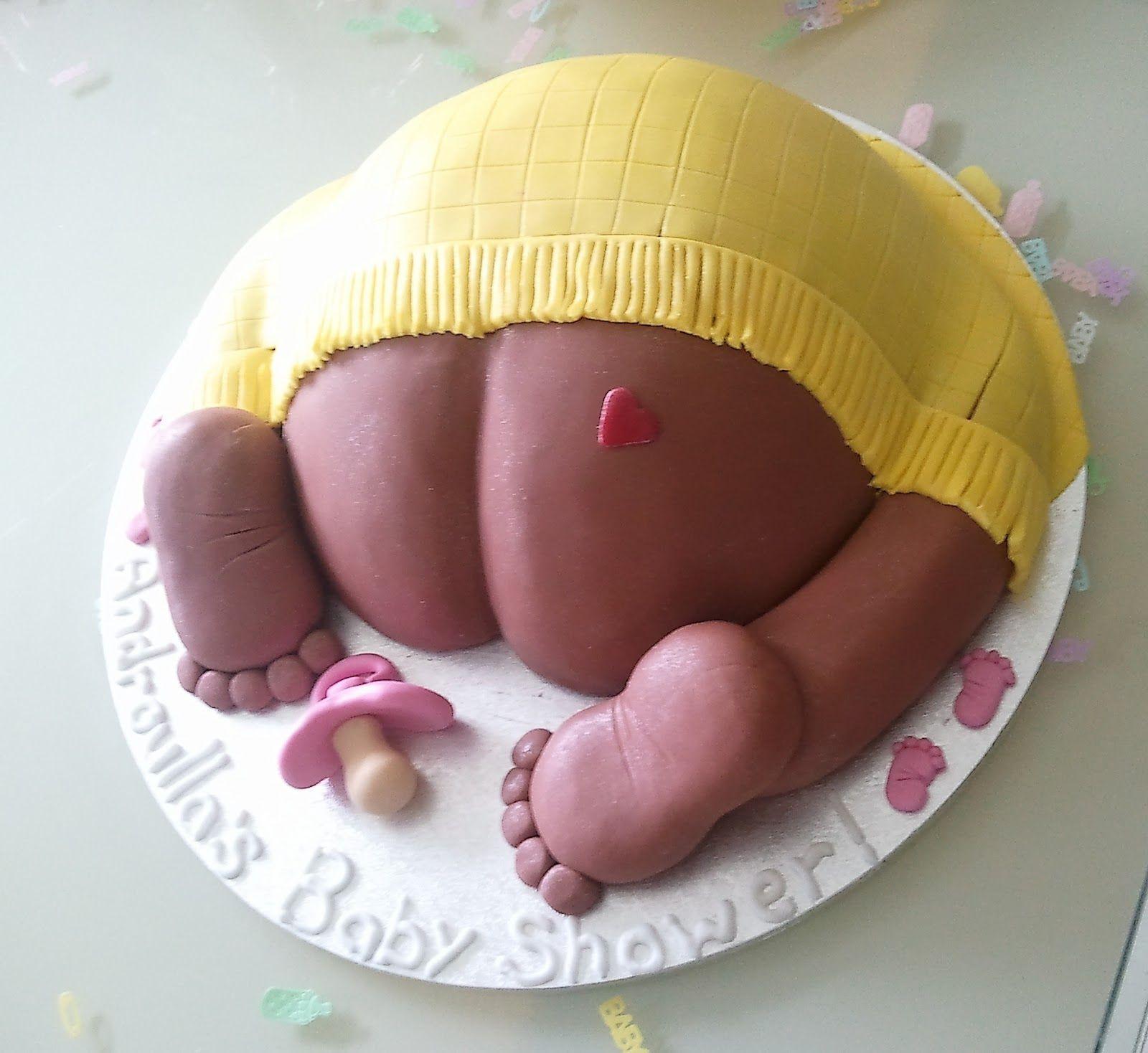 Gross Baby Shower Cakes - Awkward Baby Shower Cakes