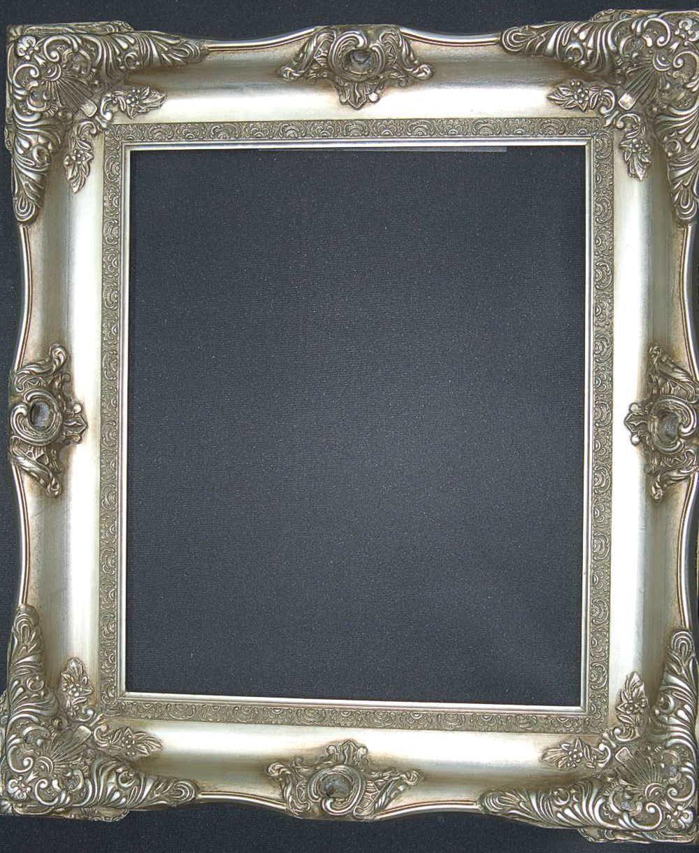 Seville Ornate Silver Picture Frame