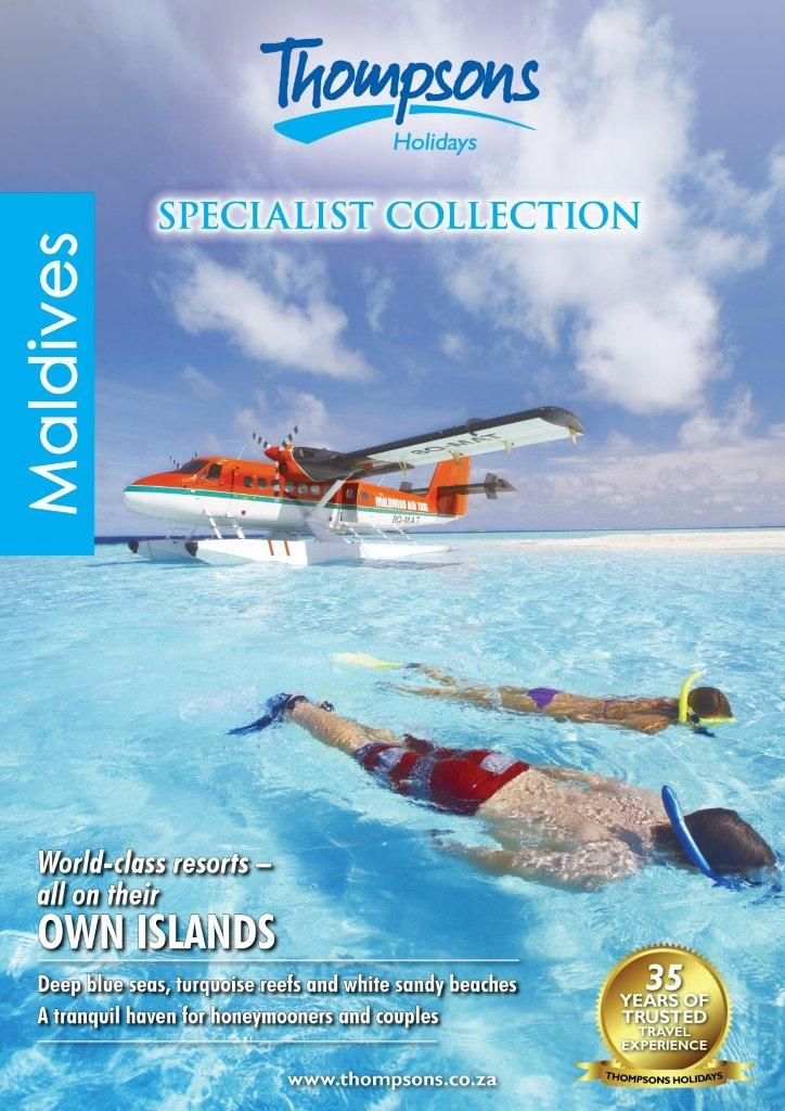 Maldives 2013 View online - http://www.thompsons.co.za/collections/Maldives%20Online%20Brochure_2013/index.html