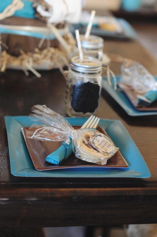 Western Turquoise Baby Shower