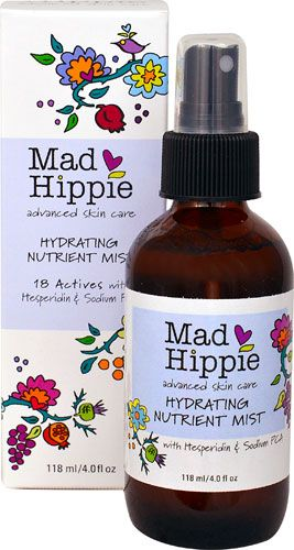 Mad Hippie Hydrating Nutrient Mist 4 Fl Oz Mad Hippie Mists Advanced Skin Care