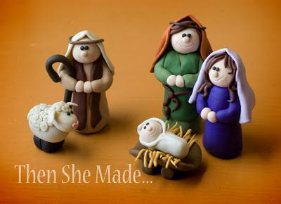 I've gotta show my sister these.  She can create anything out of sculpey clay.