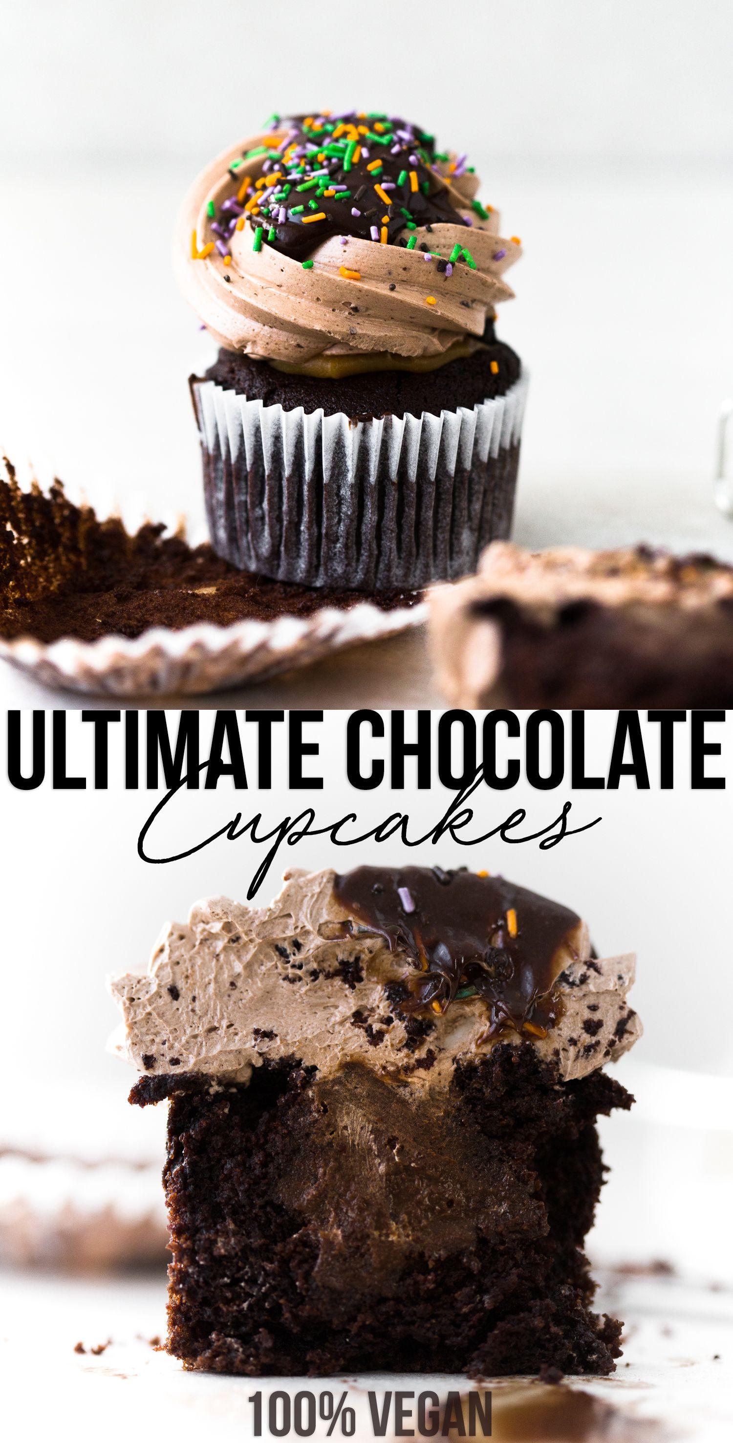 Ultimate Vegan Chocolate Cupcakes Recipe Vegan Chocolate