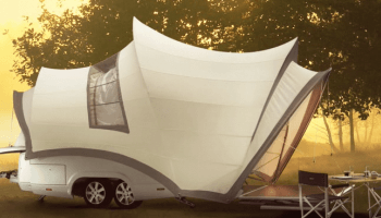 Opera Redefines The Tent Trailer