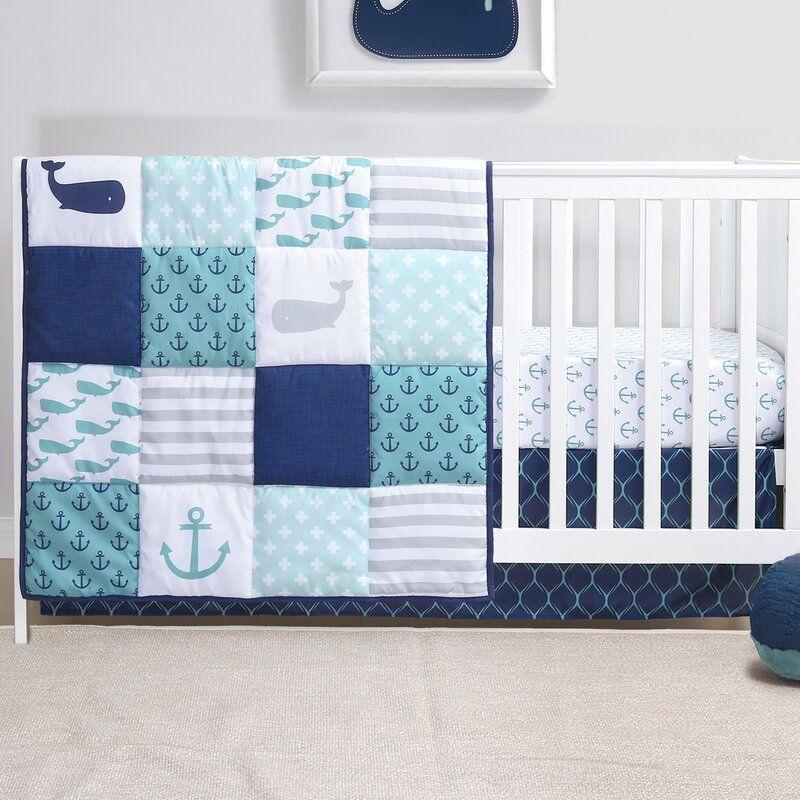 Hopper 3 Piece Crib Bedding Set Boys Crib Bedding Sets Cribs Baby Boy Bedding Sets 3 piece crib bedding set