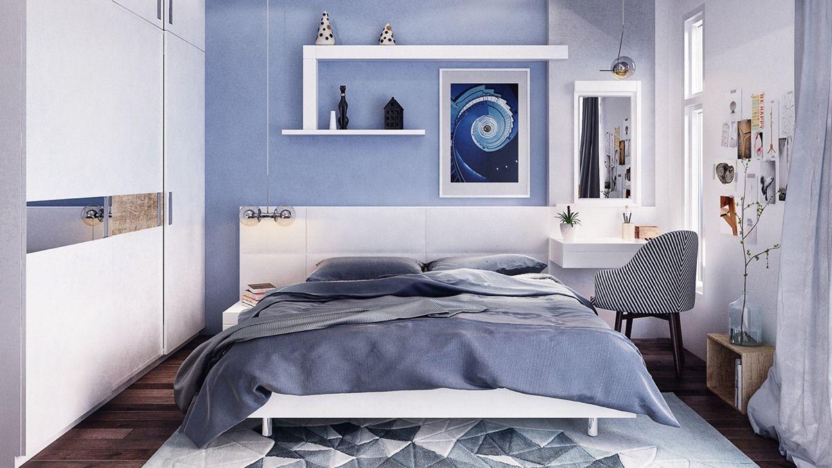 Innenfarbe im haus schöne teenager schlafzimmer ideen für einen kleinen raum