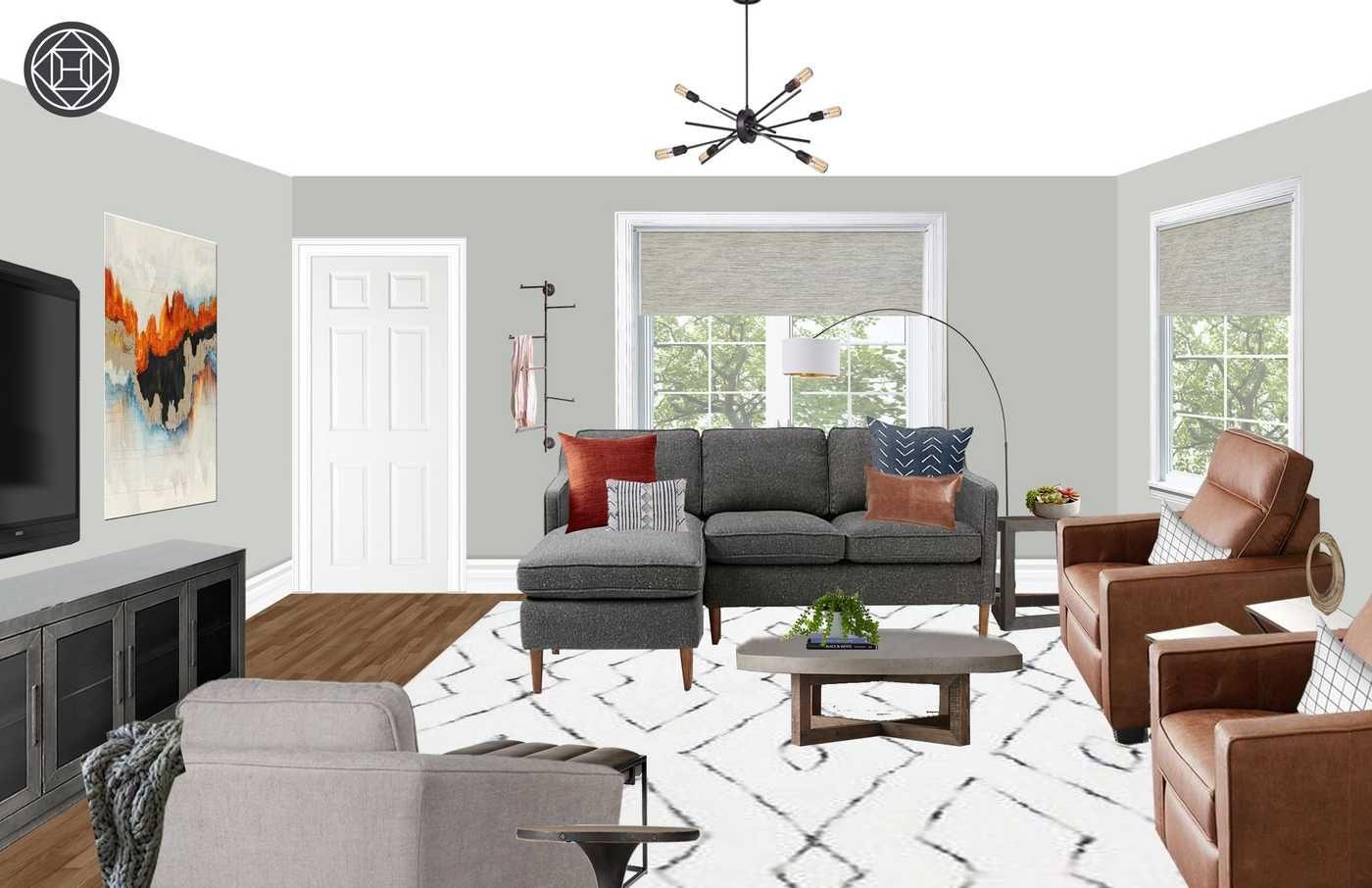 Jillian Florence Interior Designer Living Room Designs