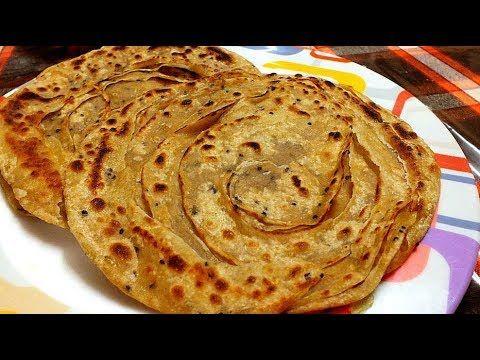 wheat flour lachha paratha recipe how to make lachha paratha paratha recipes paratha cooking on hebbar s kitchen recipes laccha paratha id=47894