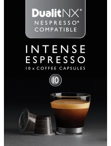Giving these a go - 60 for £11.99 from Costco!  Intense Espresso - NX capsules   Dualit NX & Nespresso® Compatible    Dualit Coffee   Coffee    Dualit
