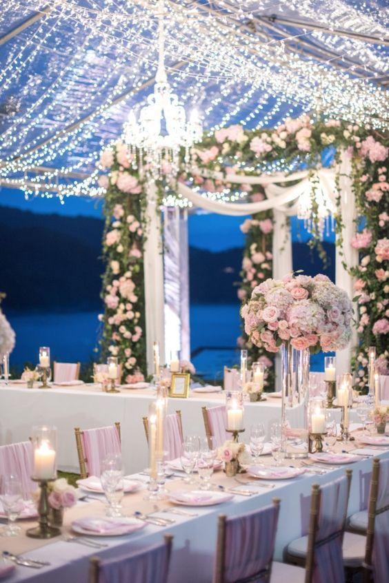 dreamy reception lighting ideas elegant wedding pinterest