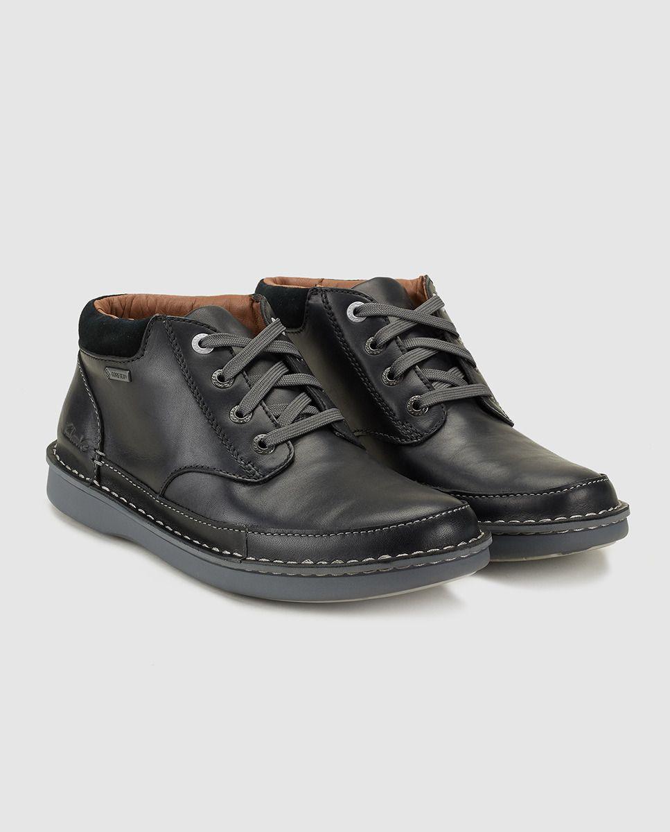 novísimo selección zapatos genuinos bienes de conveniencia Botas de hombre de Clarks negras de cuero | Botas hombre, Ropa de ...
