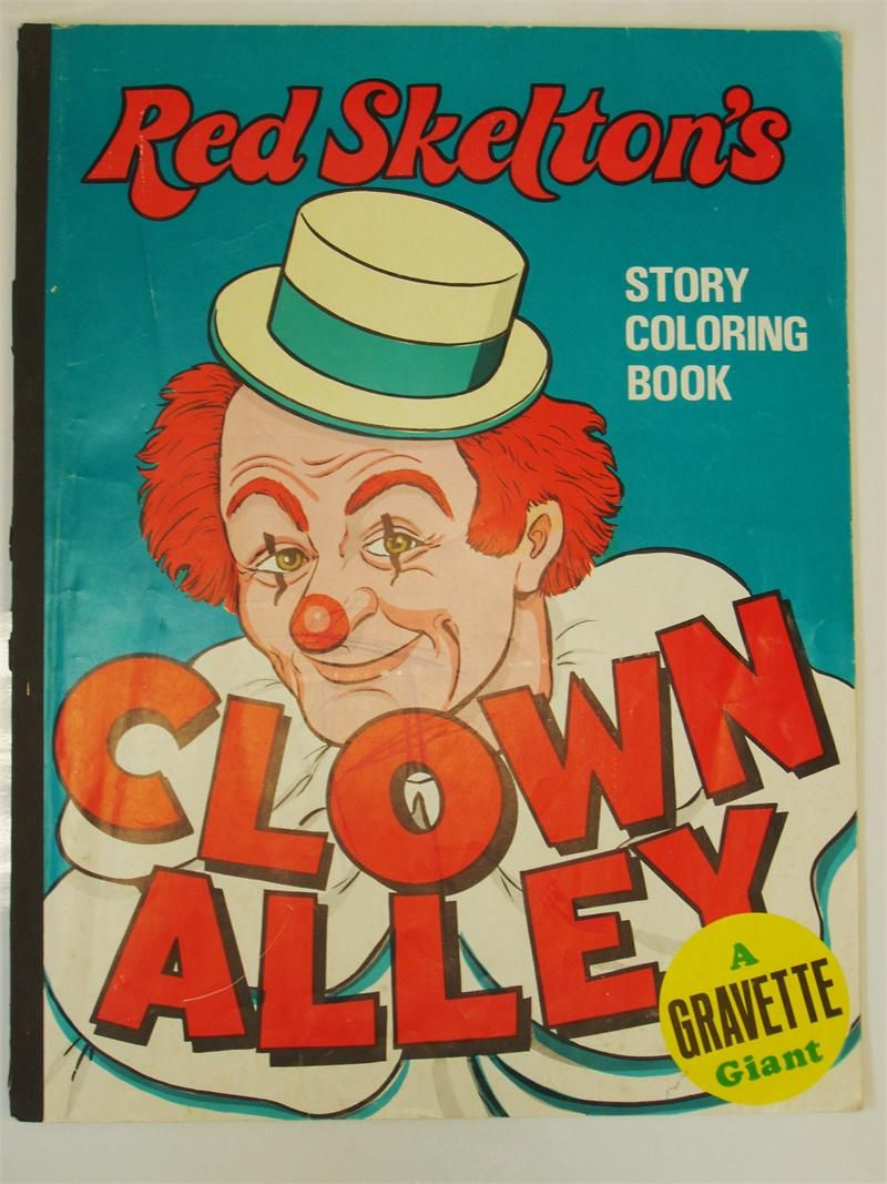 Coloring Books | Vintage Red Skelton\'s Clown Alley | Coloring books ...