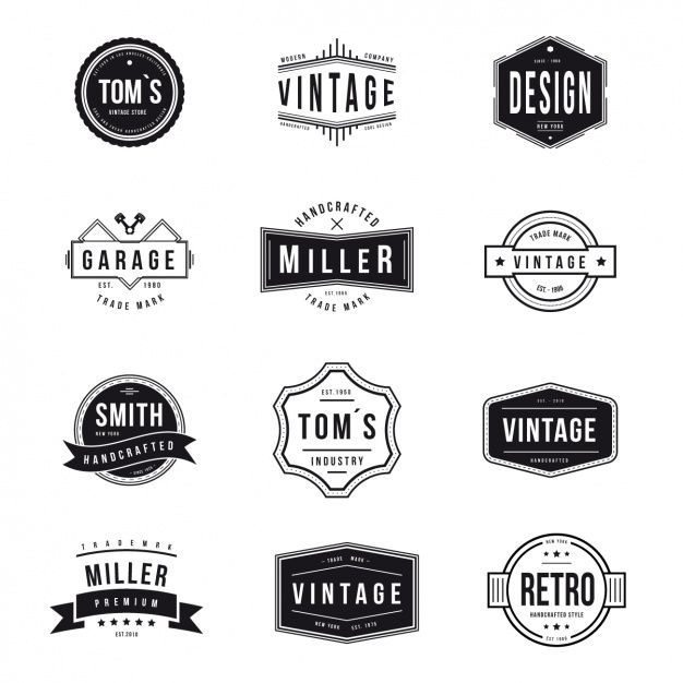 50 Free High Quality Vector Logo Templates | Batu | Pinterest ...