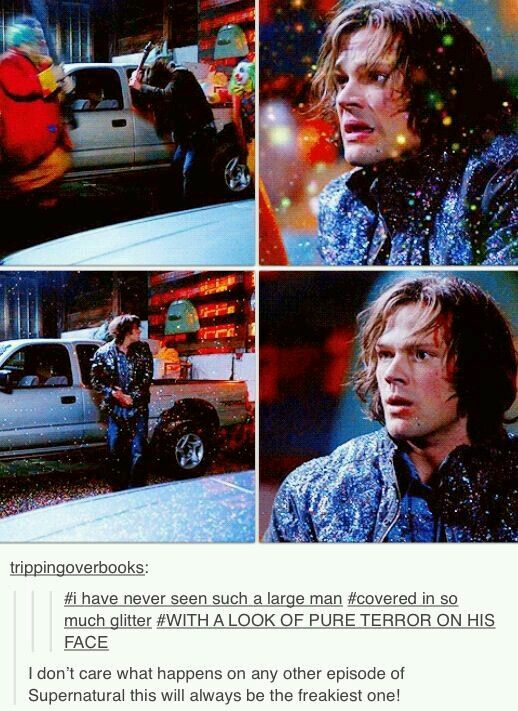 Poor Sam i hate clowns too