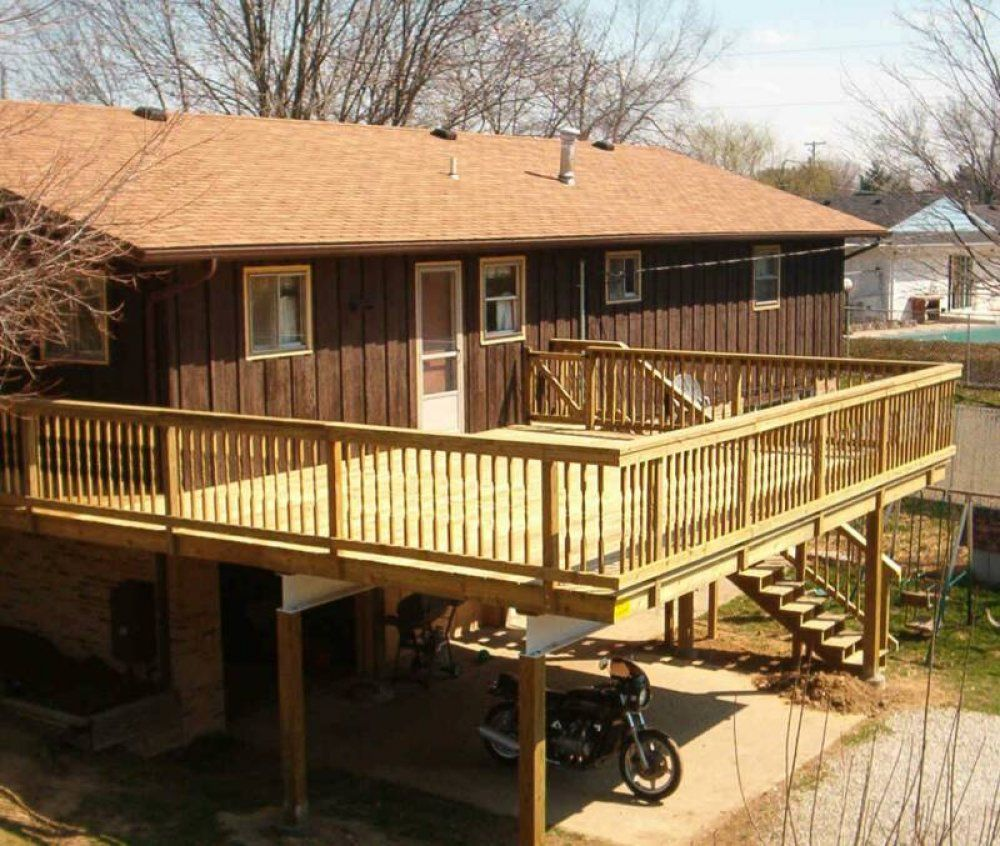 Large Wooden Decks Google Search Landscaping Ideas