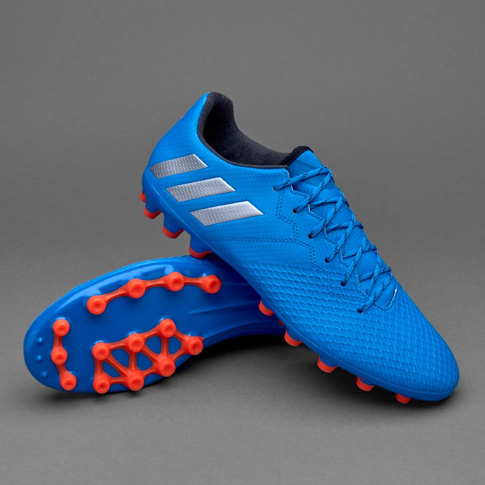 Football boots · adidas Messi 16.3 AG - Shock Blue/Matte Silver/Core Black